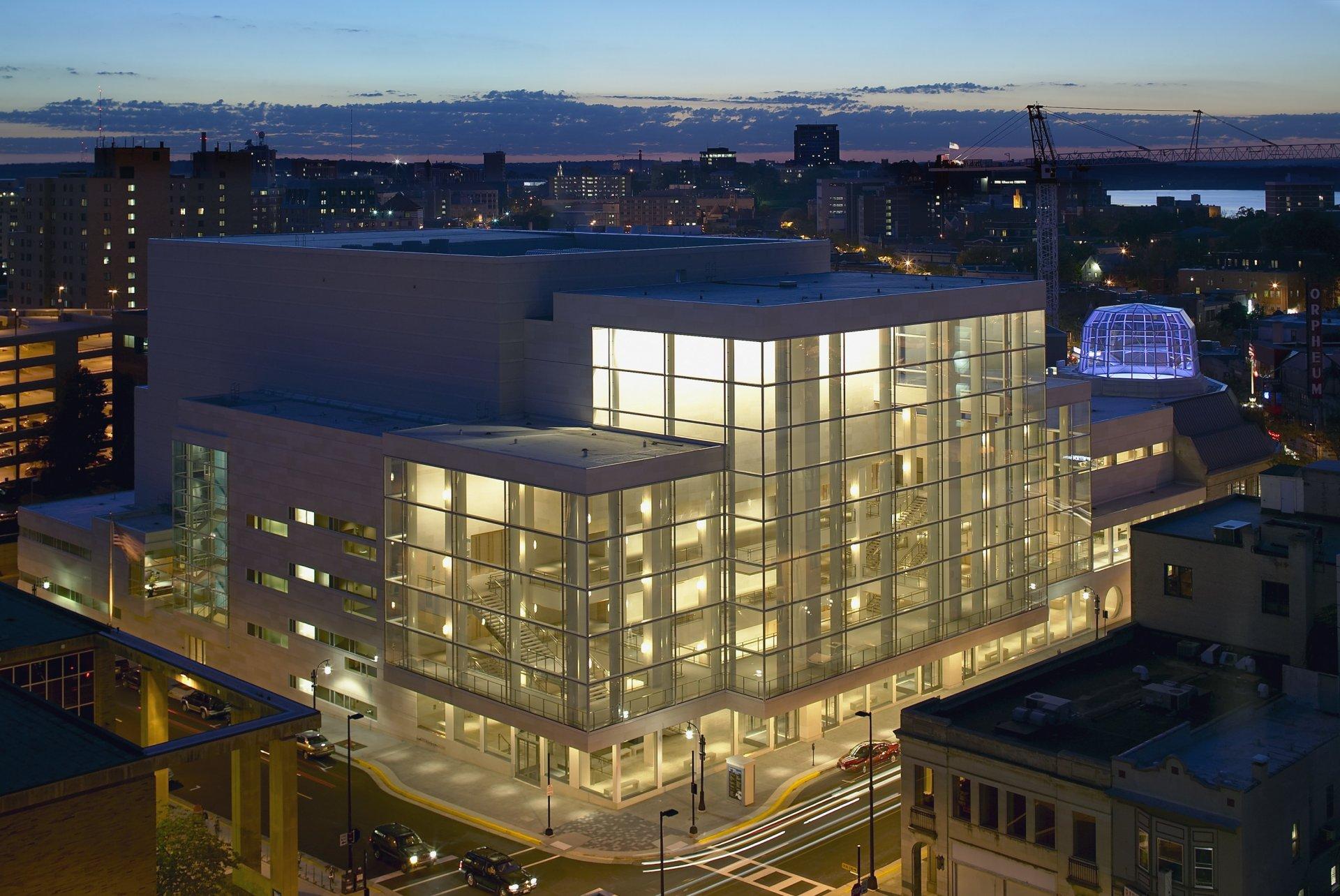 Overture Center/Madison, Wisconsin/Cesar Pelli+Associates