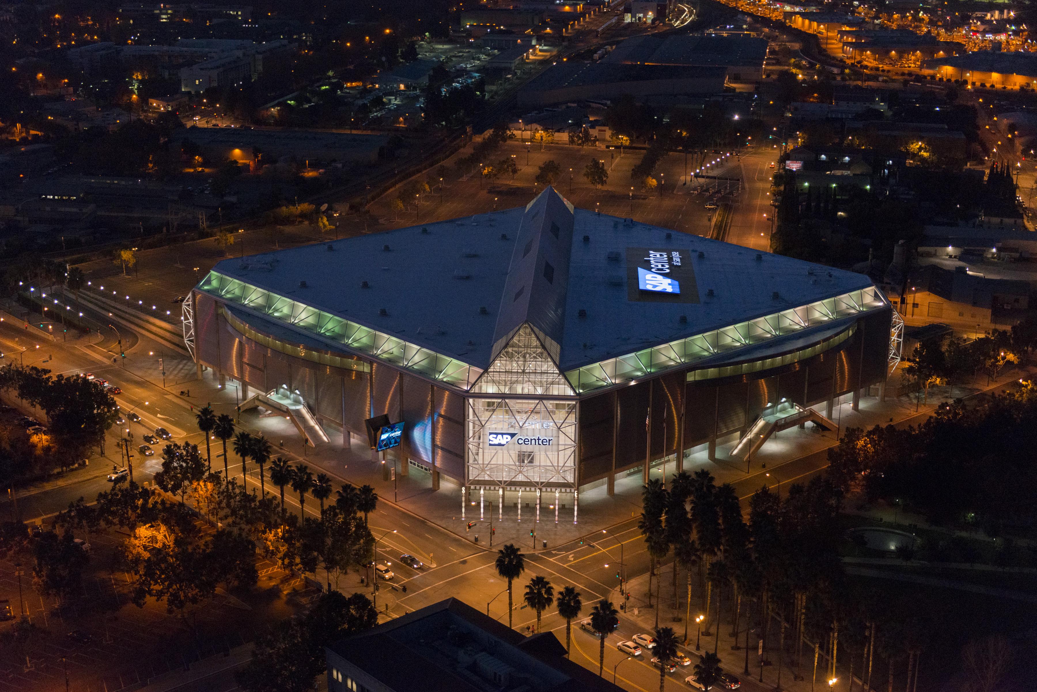 SAP Arena,Dusk & Night shots