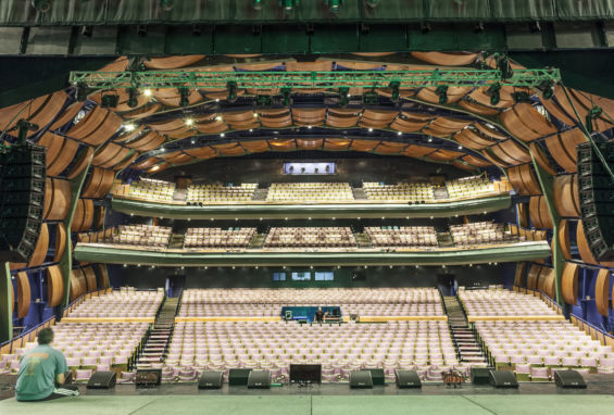 McAllen PAC int stage & seats