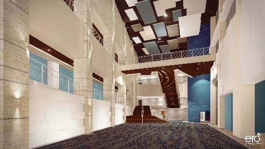 the indigo bunting - lobby