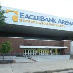 EagleBank Arena exterior sign 3