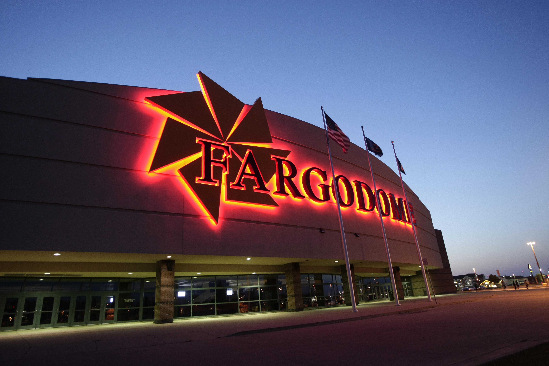 FARGODOME_ExteriorNight